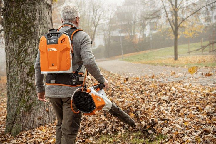 STIHL BGA 200 akupuhur - võimas puhumisjõud ja mugav kasutamine